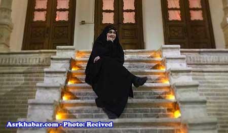 همسر سید احمد خمینی