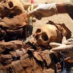 گور ۳۷۰۰ ساله زن باردار در مصر کشف شد!