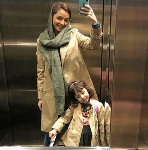 عکس ترانه علیدوستی و دخترش
