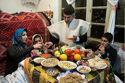 آداب و رسوم شب یلدا