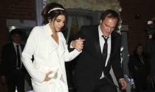 ازدواج کوئنتین تارانتینو ۵۵ ساله با خواننده ۳۵ ساله!