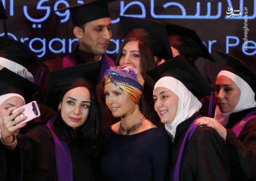 اسما اسد همسر رئیس جمهور سوریه
