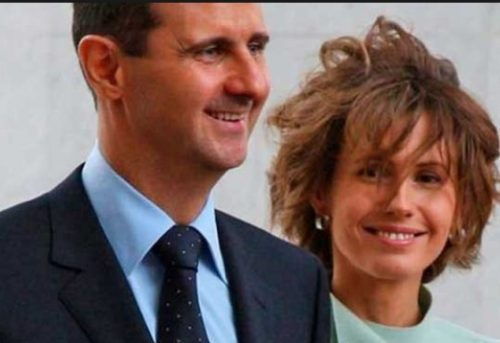 ظاهر متفاوت همسر بشار اسد در جشن فارغ التحصیلی !