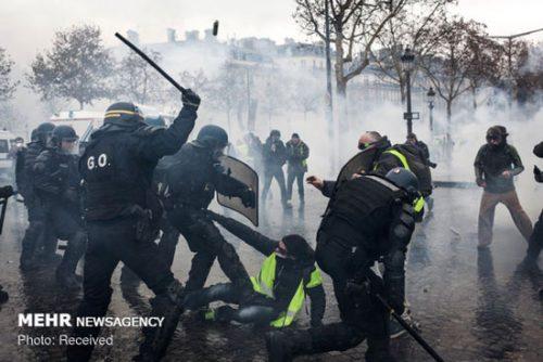 اعتراضات در فرانسه