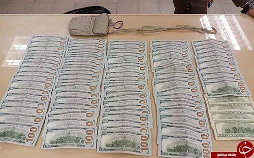 راننده تاکسی با ۱۰۰۰۰ دلاری که پیدا کرد چه کرد؟