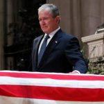 حاشیههای عجیب مراسم تشییع جنازه بوشِ پدر!