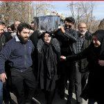 تصاویری تلخ از وداع با نگار یکی از قربانیان حادثه دانشگاه آزاد تهران!