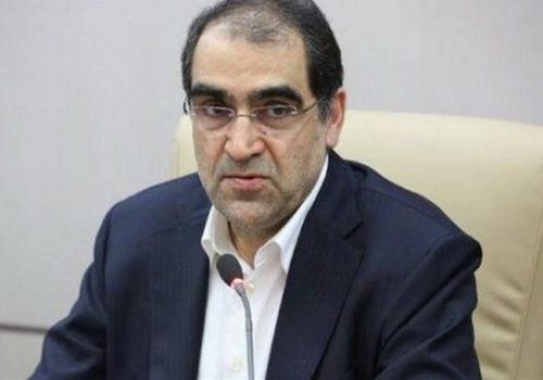 دیدار قاضی زاده هاشمی وزیر بهداشت با بهاره رهنما و …