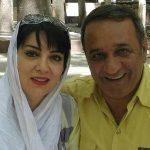 عاشقانه حمیرا ریاضی بازیگر ۵۱ ساله برای همسرش علی اسیوند!