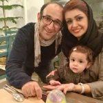جشن تولد دو سالگی دختر هدایت هاشمی و مهشید ناصری
