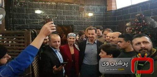 سفر بشار اسد