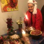 شب یلدای لاکچری بهاره رهنما و همسرش امیرخسرو عباسی
