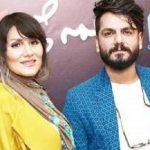 اولین حضور عباس غزالی و همسرش زهرا کریمی در تلویزیون!