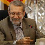 علی لاریجانی با تیپ خاص در بازدید هوایی از جلفا !!