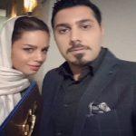 موتور سواری احسان خواجه امیری و همسرش لیلا ربانی!
