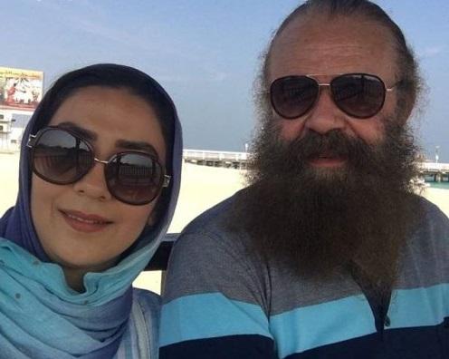 یلدای رمانتیک سارا صوفیانی و همسرش امیرحسین شریفی!