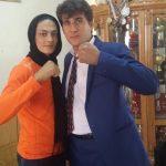 تیپ خاص شهربانو منصوریان و نیوشا ضیغمی در یک جشن!