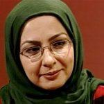 عیادت لاله صبوری بازیگر تلویزیون از حسین محب اهری