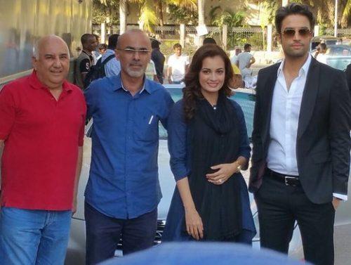 پیام تبریک قربان محمدپور برای تولد دیا میرزا بازیگر زن هندی!