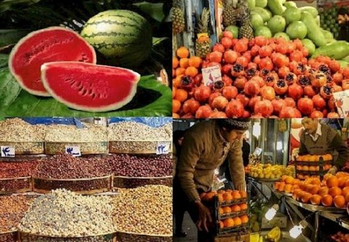 لیست کامل قیمت تنقلات شب یلدا ۹۷ اینجاست! + میزان افزایش قیمت ها