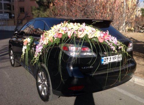 تصویری از یک ماشین عروس متفاوت و عجیب در کرمان!!