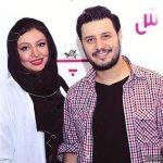 جواد عزتی و همسرش مهلقا باقری در جشن منتقدان سینما