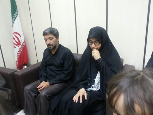 توهین کاربران به همسر شهید محسن حججی بعد از ازدواج مجدد!!