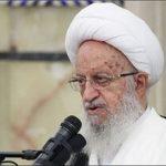 انتقاد مکارم شیرازی از روحانی :سخنان شما درباره حجاب زننده بود!