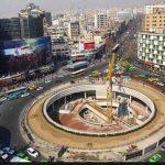 بیلبورد جدید میدان ولیعصر تهران که باز هم حاشیهساز شد!