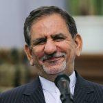 جشن تولد جهانگیری معاون اول رئیس جمهور در کاخ سعدآباد!