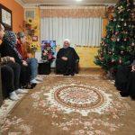 دکتر روحانی در منزل جانباز مسیحی با آغاز سال ۲۰۱۹