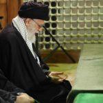 حضور آیت الله خامنهای رهبر انقلاب در حرم امام خمینی (ره)
