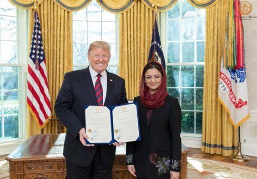 رویا رحمانی سفیر افغانستان