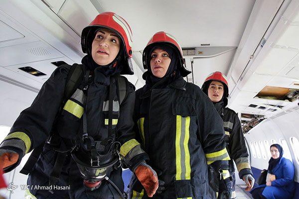 زنان آتش نشان