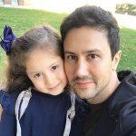 پناه دختر شاهرخ استخری در جشن سال نوی ۲۰۱۹
