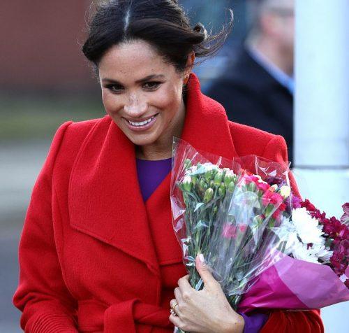 ظاهر جدید مگان مارکل عروس باردار سلطنتی که سوژه رسانهها شد!!