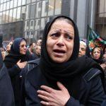 تصاویری تلخ و دلخراش از عزاداری خانواده قربانیان حادثه سانچی