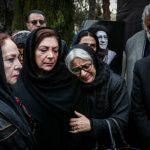 تصاویری از مراسم تشییع پیکر حسین محب اهری با حضور چهره ها