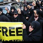 تصاویری از تجمع برای مرضیه هاشمی خبرنگار پرس تی وی در تهران