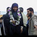 بازگشت مرضیه هاشمی مجری پرس تی وی به ایران