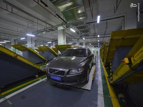 تصاویری از افتتاح نخستین پارکینگ هوشمند جهان