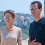 آثار شیمی درمانی در جدیدترین تصاویر از همسر بشار اسد!