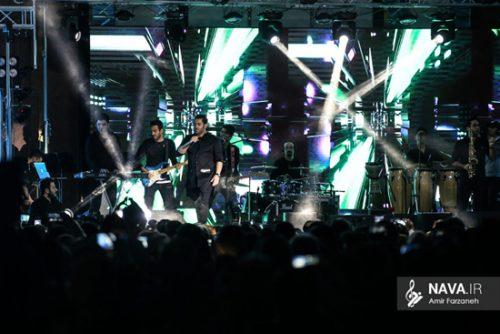 کنسرت رضا گلزار در تبریز