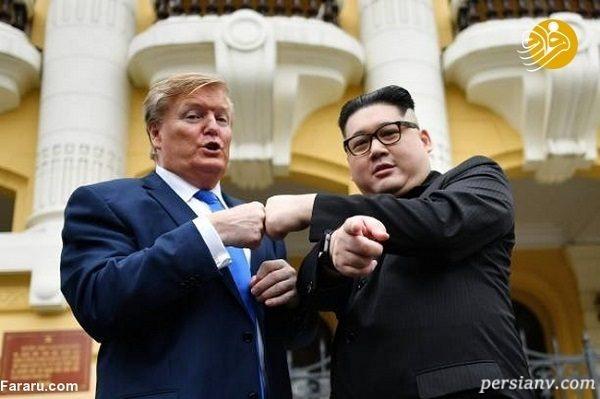 تصاویری جالب از دیدار بدل اون و ترامپ در هانوی