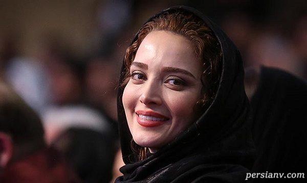 عکس یادگاری جواد عزتی و بهنوش طباطبایی در جشنواره فجر