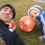 تولد پسر علیرضا بیرانوند دروازه بان تیم ملی ایران