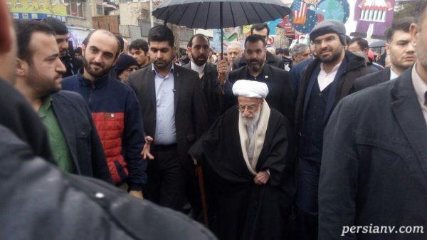 حسن روحانی در راهپیمایی 22 بهمن
