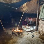 تصاویری جالب از خانواده غارنشین در خوزستان