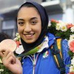 عکسی دیده نشده از کودکی کیمیا علیزاده تکواندوکار ایرانی