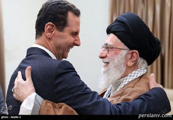 دیدار بشار اسد با رهبر انقلاب